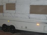 Caravan Front Panel Repair